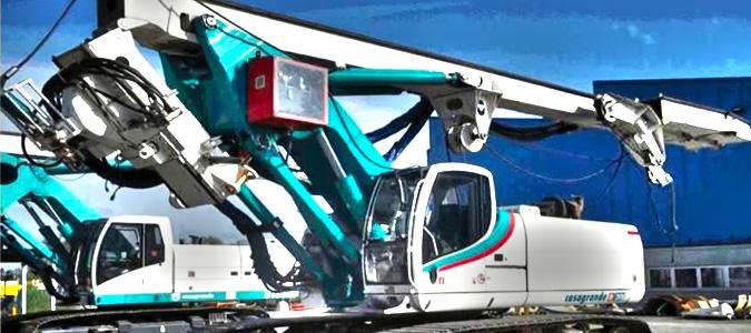 Аренда буровой установки Casagrande B-200